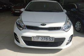 Bán ô tô Kia Rio đời 2015, màu trắng, nhập khẩu nguyên chiếc giá 490 triệu tại Tp.HCM