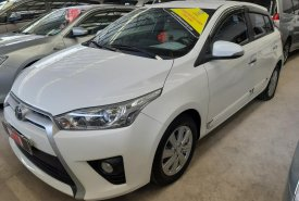 Cần bán Toyota Yaris 1.3G AT đời 2016, màu trắng, nhập khẩu nguyên chiếc, số tự động, giá 610tr giá 610 triệu tại Tp.HCM