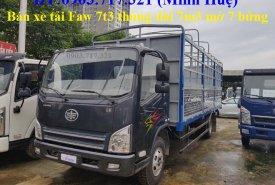 Xe tải Faw 7T3, thùng dài 6m3, động cơ Hyundai D4DB ga cơ giá 630 triệu tại Bình Phước