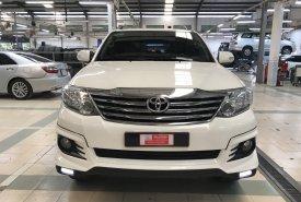 Cần bán gấp Toyota Fortuner 2.7V TRD 4x2 AT đời 2016, màu trắng giá cạnh tranh giá 880 triệu tại Tp.HCM