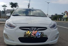 Bán Hyundai Accent 2014, màu trắng, nhập khẩu nguyên chiếc xe gia đình giá 358 triệu tại Quảng Nam