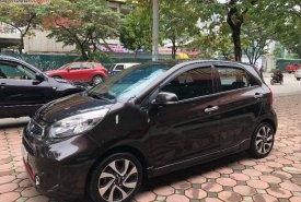 Cần bán Kia Morning Si AT sản xuất 2017, màu nâu, số tự động giá 370 triệu tại Hà Nội