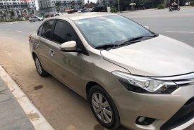 Cần bán xe cũ Toyota Vios 1.5G năm 2015, màu vàng giá 440 triệu tại Hà Nội