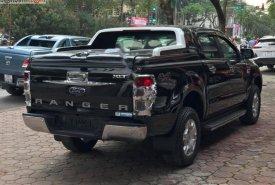 Bán Ford Ranger XLT 2.2L 4x4 MT năm 2017, màu đen, nhập khẩu, số sàn  giá 650 triệu tại Hà Nội