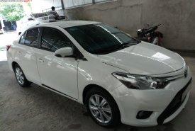 Bán Toyota Vios đời 2017, màu trắng xe nguyên bản giá 485 triệu tại An Giang