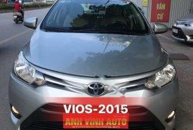 Bán xe Toyota Vios 1.5E 2015, màu bạc, số sàn, 415tr giá 415 triệu tại Hà Nội