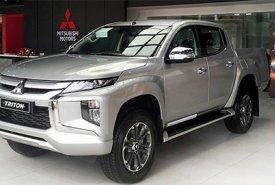 Cần bán xe Mitsubishi Triton GLS 4x2 AT sản xuất 2019, màu bạc, nhập khẩu nguyên chiếc, giá 730tr giá 730 triệu tại Quảng Nam