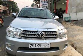 Bán Toyota Fortuner 2.5G năm 2009, màu bạc như mới, 525tr giá 525 triệu tại Phú Thọ