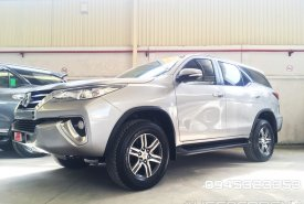 Bán xe Toyota Fortuner V 4x2 đời 2017, màu bạc, nhập khẩu chính hãng giá 1 tỷ 20 tr tại Tp.HCM