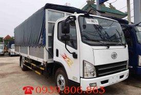 Bán xe tải FAW 7.3 tấn, thùng dài 6.2m, động cơ Hyundai, hỗ trợ trả góp 80% giá trị xe giá 590 triệu tại Tp.HCM