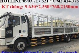 Xe tải Faw 7t25 thùng dài 9m7 trả góp toàn quốc giá 990 triệu tại Vĩnh Long