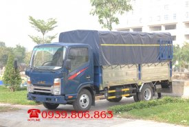 Xe tải JAC N200 1.9 tấn đầu vuông động cơ Isuzu. Trả trước 100 triệu giá 440 triệu tại Tp.HCM