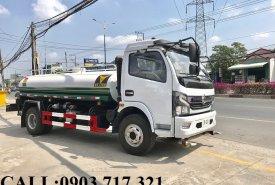 Bán xe bồn DongFeng 5 khối chở nước. Gía bán xe bồn DongFeng 5 khối chở nước tốt nhất giá 550 triệu tại An Giang