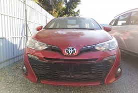Bán Toyota Yaris 1.5G CVT 2020 màu đỏ, xe nhập nguyên chiếc từ Thái Lan giá 650 triệu tại BR-Vũng Tàu