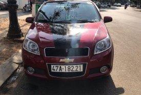 Cần bán lại xe Chevrolet Aveo MT đời 2017, màu đỏ số sàn, 285tr giá 285 triệu tại Đắk Lắk