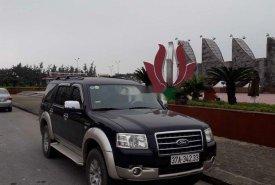 Cần bán gấp Ford Everest đời 2008, màu đen, nhập khẩu giá 330 triệu tại Nghệ An