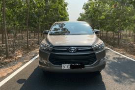 Cần bán chiếc Toyota Innova MT đời 2017, còn rất mới, tiện nghi đầy đủ, giá thấp giá 589 triệu tại Bình Dương