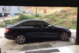 Cần bán lại xe Mercedes C200 sản xuất 2008, màu đen giá 360 triệu tại Quảng Ninh