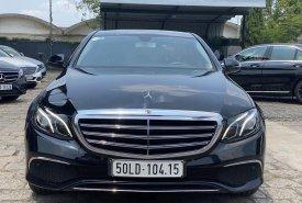 Bán xe Mercedes E200 đời 2017, màu đen như mới giá 1 tỷ 650 tr tại Tp.HCM