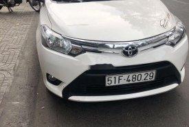 Bán Toyota Vios sản xuất năm 2017, màu trắng, chính chủ, giá tốt giá 395 triệu tại Tp.HCM