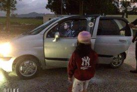 Cần bán Daewoo Matiz sản xuất 2003, màu bạc, xe nhập  giá 55 triệu tại Bình Định