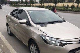 Bán Toyota Vios E MT sản xuất 2017, màu vàng cát số sàn giá 420 triệu tại Hà Nội