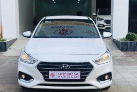 Bán gấp chiếc Hyundai Accent MT (bản đủ) đời 2018, màu trắng, giá cực kì ưu đãi giá 460 triệu tại Cần Thơ