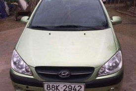 Bán ô tô Hyundai Getz đời 2009, màu xanh lục, xe nhập giá 170 triệu tại Hà Nội