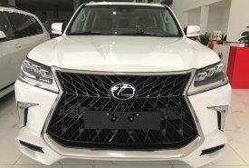 Bán xe Lexus LX Super Sport S đời 2020, màu trắng, xe nhập giá 9 tỷ 150 tr tại Hà Nội