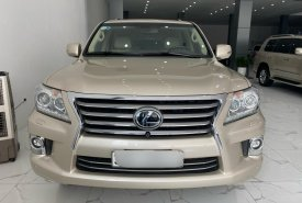 Bán Lexus LX570 nhập Mỹ, màu vàng cát, Model 2015, đăng ký 2016, xe siêu mới, biển Hà Nội giá 4 tỷ 280 tr tại Hà Nội