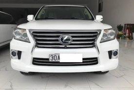 Bán Lexus LX 570 đời 2014, màu trắng, xe nhập Mỹ giá 3 tỷ 650 tr tại Hà Nội