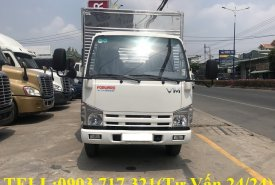 Xe tải Vĩnh Phát 1T9 thùng 6.2m l Công ty bán xe tải VM 1T9 thùng dài 6m2 giá 560 triệu tại Bình Dương