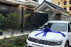 Volkswagen Tiguan Allspace, màu trắng, nhập khẩu - Tặng ngay 207tr tiền mặt giá 1 tỷ 729 tr tại Quảng Ninh