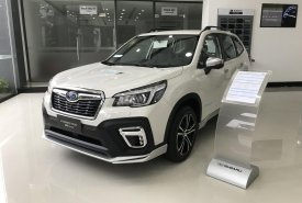 Bán Subaru Forester I-S Eyesight GT Edition đời 2019, màu trắng, nhập khẩu giá 1 tỷ 385 tr tại Tp.HCM