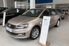 Bán xe Volkswagen Polo sản xuất 2016, màu vàng, nhập khẩu chính hãng giá cạnh tranh giá 699 triệu tại Quảng Ninh