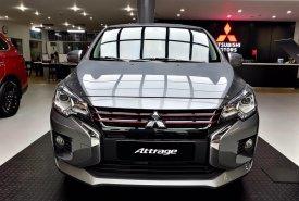 Cần bán Mitsubishi Attrage AT đời 2020, màu xám, nhập khẩu giá 460 triệu tại Nghệ An