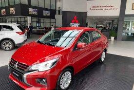 Bán Mitsubishi Attrage CVT đời 2020, màu đỏ, xe nhập giá 460 triệu tại Nghệ An