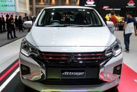 Cần bán Mitsubishi Attrage AT đời 2020, màu trắng, nhập khẩu nguyên chiếc giá 460 triệu tại Nghệ An