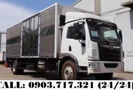 Xe tải Faw 8T3 thùng kín dài 8m, mới 2020, giá nhà máy giá 835 triệu tại Bình Dương