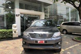 Cần bán lại xe Toyota Fortuner 2014, màu xám giá 650 triệu tại Tp.HCM