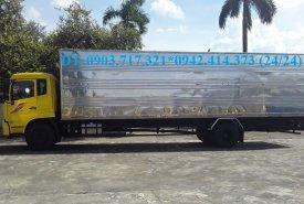 Bán trả góp xe tải DongFeng B180 thùng dài 9m7/ Xe Dongfeng B180 thùng kín dài 9m7 giá 950 triệu tại Long An