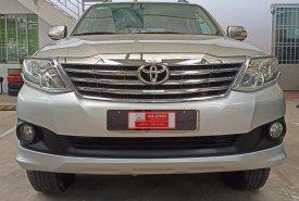 Cần bán lại xe Toyota Fortuner 2.7AT đời 2012, màu bạc, xe gia đình giá cạnh tranh giá 580 triệu tại Tp.HCM