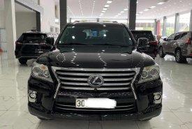 Bán ô tô Lexus LX 570 nhập Mỹ đời 2014, màu đen, nhập khẩu giá 4 tỷ 260 tr tại Hà Nội