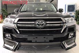 Bán xe Toyota Land Cruiser VXR đời 2020, màu đen, xe nhập giá 6 tỷ 550 tr tại Hà Nội