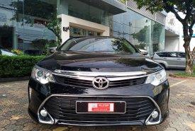 Cần bán lại xe Toyota Camry E đời 2017, màu đen, nhập khẩu chính hãng giá 850 triệu tại Tp.HCM