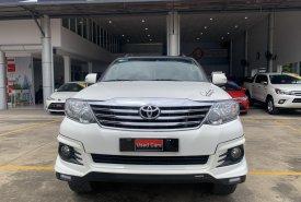 Cần bán Toyota Fortuner V TRD phiên bản thể thao 2016, màu trắng, giá còn fix mạnh. giá 770 triệu tại Tp.HCM
