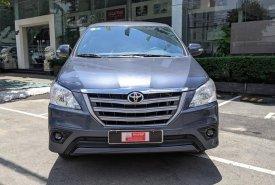 Cần bán lại xe Toyota Innova E sản xuất 2015 màu ghi xanh cực hiếm, giá chỉ 520 triệu giá 520 triệu tại Tp.HCM