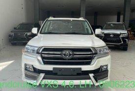 Cần bán xe Toyota Land Cruiser 4.6 VXS đời 2021, màu trắng, xe nhập giá 6 tỷ 480 tr tại Hà Nội