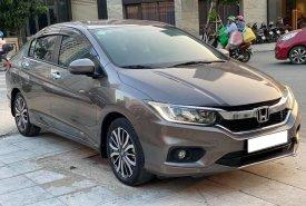 Gia đình cần bán Honda City 2018 số tự động, màu xám nhìn như mới giá 456 triệu tại Tp.HCM