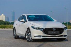 Bán ô tô Mazda 3 1.5 đời 2020, màu trắng tại Mazda Phố Nối, hưng Yên giá 669 triệu tại Hưng Yên